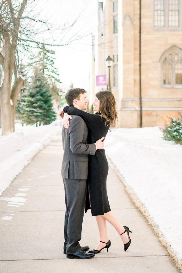 Erin Jake St Thomas University Minneapolis Minnesota Fine Art Engagement Photography Rachel Elle Photography 52 websize
