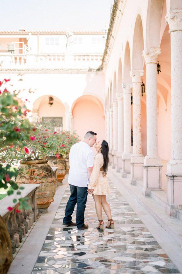 Summer Zach Ringling Museum Sarasota Florida Engagement Fine Art Wedding Photography Rachel Elle Photography 59
