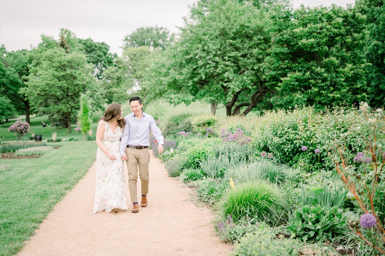 Dharma Jenna Lyndale Rose Garden Engagement Minneapolis Minnesota Wedding Photographer Luxury Wedding Photography 2021 Rachel Elle Photography 34